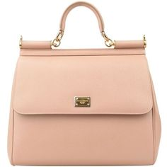DOLCE & GABBANA Saffiano Miss Sicily Bag ($1,730) ❤ liked on Polyvore