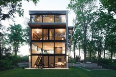 House O - great #glass #architecture