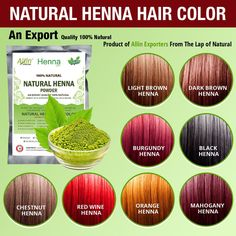 Henna Hair Color  100% Organic And Chemical Free Henna For Hair Color Hair Care