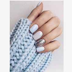 How to make shellac nails at home (in 8 incredibly easy steps!) # … How to make shellac nails at home (in 8 incredibly easy steps! Glitter Gel Nails, Sparkle Nails, Shellac Nails, Pink Nails, Matte Nails, Silver Glitter, Pastel Blue Nails, Silver Color, Red Color