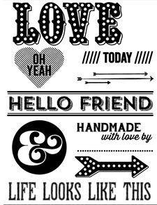 Letterpress Plate: Card Toppers by Allison Kreft // @Studio_Calico