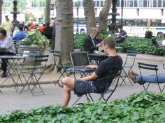 Wi-Fi, Bryant Park, Midtown Manhattan