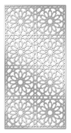 Decorative paneling spaces tra
