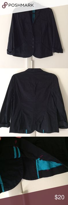 Express Quarter Sleeve Blazer Good condition. Some repairs have been make to pockets and hem. Express Jackets & Coats Blazers