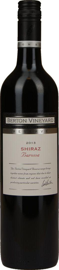 "Berton Vineyards Reserve Range ""Barossa Valley"" Shiraz | Dewit Wijnen"