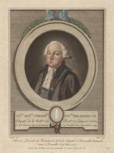 François-Joseph Théodore, Vicomte de Desandrouin (1740 -  ?  ).