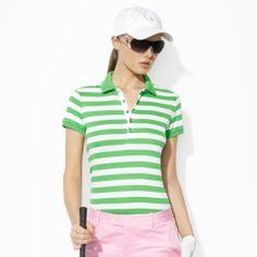 Tailored Golf-Fit Striped Polo - Ralph Lauren Golf Polos - RalphLauren.com 1dbd17d9780