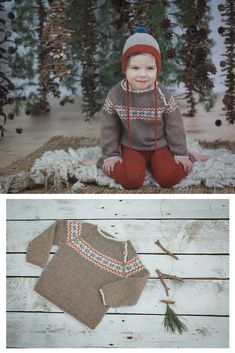 Hand knitted baby sweater, fair isle sweater, hand knitting, baby sweater, baby clothes, baby outfits, baby style, children sweater, children outfits, children style, children clothes, kids clothes, kids outfits