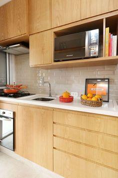 Apartamento jovem e colorido (Foto: Divulgação) #kitchendesign