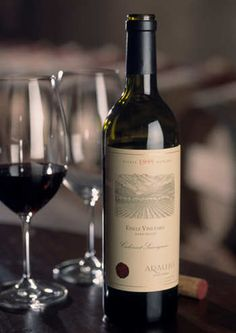 The BEST wine in the world. Araujo Estates.