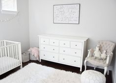 Walls Repose Gray At Half Tint By Sherwin Williams Nursery Paint Colors Wall