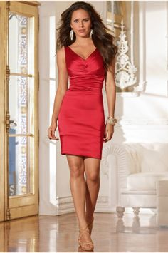 Boston Proper Stretch satin date dress