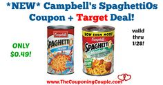 LOVE this coupon! Rarely see SpaghettiOs Coupons! *NEW* Campbell's SpaghettiOs Coupon + Target Deal!  Click the link below to get all of the details ► http://www.thecouponingcouple.com/new-campbells-spaghettios-coupon-target-deal/ #Coupons #Couponing #CouponCommunity  Visit us at http://www.thecouponingcouple.com for more great posts!