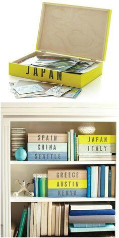 DIY Travel Keepsake Box1