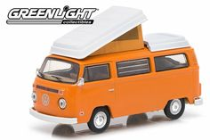 Brand: Greenlight Make: Volkswagen Model: Type 2 Campmobile Colour: Orange Series: Club V-Dub Series 1 Age: Scale: Volkswagen Type 2, Womens Golf Shoes, Golf Outfit, Golf Carts, Ladies Golf, New Man, Golf Ball, Best Brand, Diecast