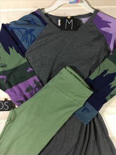 MED Randy with solid army green os leggings https://m.facebook.com/groups/515210432200097