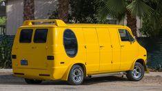 Dodge Van, Custom Hot Wheels, Cool Vans, Vintage Vans, Custom Vans, Las Vegas, Vegas 2017, Camper Van, Van Life