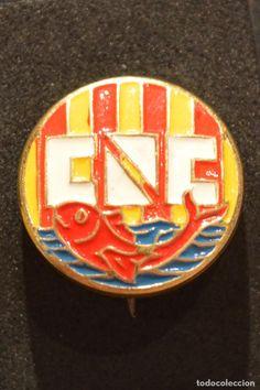 PIN DE AGUJA CLUB NATACIO CATALUÑA AÑOS 50