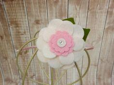 Felt Flower Headband/ToddlerHeadband Little Girl by Lillianas, $6.50