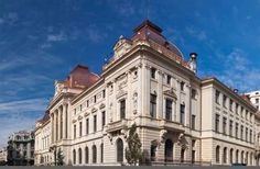 Palatul Bancii Nationale Romane Roman, Jerusalem, Louvre, Building, Travel, Houses, Viajes, Buildings, Destinations