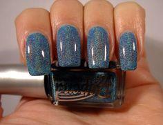 2033 Ocean Blue Holographic Våren 2012