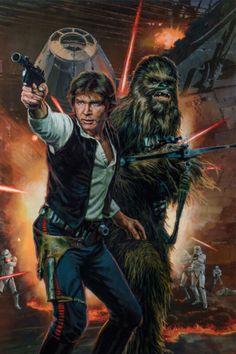 Lego Disney, Disney Pixar, Tatoo Star, Star Wars Tattoo, Han Solo And Chewbacca, Star Wars Han Solo, Cuadros Star Wars, Star Wars Painting, Images Star Wars