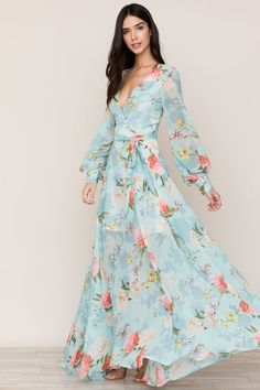 62bff91f52c1 Size Maxi Wrap Dress