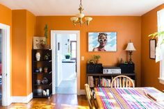 House Tour: A Shopkeeper's Colorful Richmond Home | Apartment Therapy