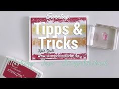 Stampin' Up! Tipps & Tricks am Sonntag: Two Step Stempeltechnik - YouTube
