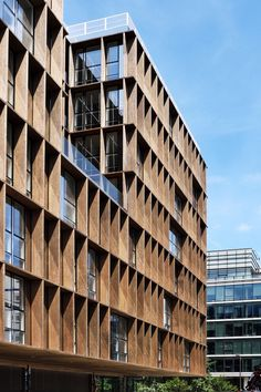 """""""ELEMENTS"""" Bureaux et commerces, Paris (75013) - Vinci Immobilier - Antonini Darmon"""