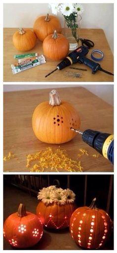 Progressive Pumpkin Carving.