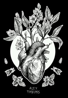 The heart on my sleeve - left wrist