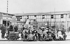 Was ein Bild! 1  1879: Erste elektrische Eisenbahn