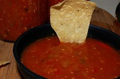 Homemade Cooked Salsa