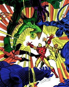 Iron Man vs. the Super-Army – John Romita Jr. & Bob Layton