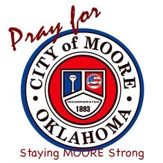 Having grown up in Moore, I can tell that my hometown Will be MOORE than OK! #MooreStrong #Moore