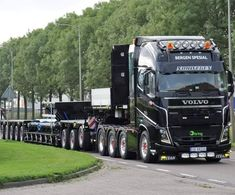 Big Rig Trucks, Semi Trucks, Cool Trucks, Bergen, Road Train, Volvo Trucks, Heavy Truck, Chevy, Toyota