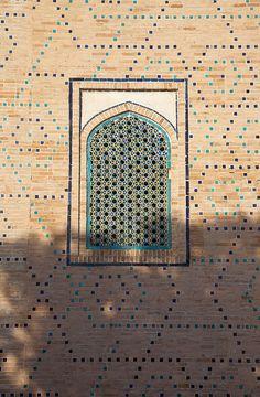Window, Samarkand Uzbekistan