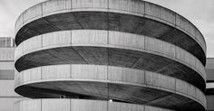 Lines and Bends, Limited Editon of 7 copies. Car Parking, Milan, Scene, Black And White, City, Building, Black White, Buildings, Cities