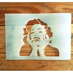 Iconic face Madonna singer stencil for easy painting picture Large Stencils, Easy Paintings, Pictures To Paint, Famous Faces, Madonna, Woodworking, Stenciling, Larry, Composition