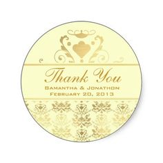 20 best wedding thank you stickers images thank you stickers