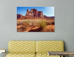 Discover «Elephant Butte in Monument Valley», Numbered Edition Acrylic Glass Print by Daniela Constantinescu - From $75 - Curioos