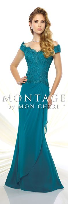 Montage by Mon Cheri Spring 2016 - Style No. Stunning Dresses, Beautiful Gowns, Elegant Dresses, Beautiful Outfits, Pretty Dresses, Mother Of Groom Dresses, Mothers Dresses, Bride Groom Dress, Mob Dresses
