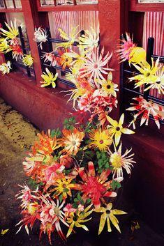 Friday Flowers: Garbage Flowers