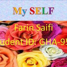 Farin Saifi Student ID: GHA-958   I am taking English Teacher course.  I want to become a English Teacher.    GOL GAPPA CHOLE RICE  CLOTHS  SHOPPI. http://slidehot.com/resources/ja-fa-2-aj-h-p.61025/