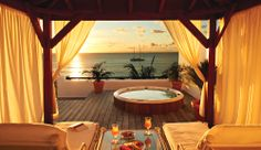 La Samanna Resort & Spa, St. Martin - this is the One Bedroom Plunge Pool Suite