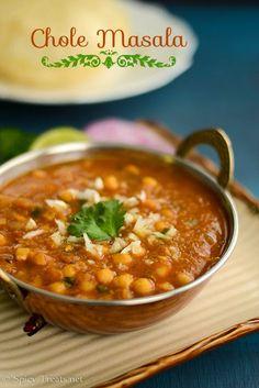 Spicy Treats: Chole Masala Recipe | Easy Chole Recipe | Channa Masala For Batura