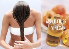 Apple Cider Vinegar Rinse FOR Speeding Up #HairGrowth  Apple cider vinegar has many benefits for your hair. It stimulates the hair follicles and help them grow faster. You just have to use this vinegar as an after-wash rinse. Add apple cider vinegar with water and use it as a final rinse for your hair each time you shampoo your hair. #hairtips #HairLoss #hair #haircare