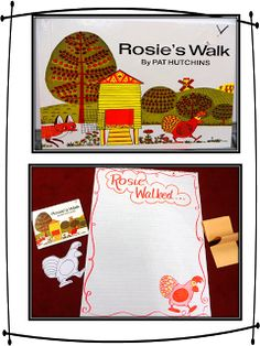 First Grade Wow: Understanding Community Through Rosie's Walk and Me on the Map
