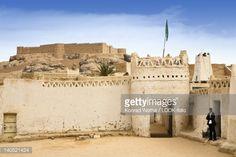Photo : 'Oldtown of Ghat with Fort Koukenem, Libya, Sahara, North Africa'
